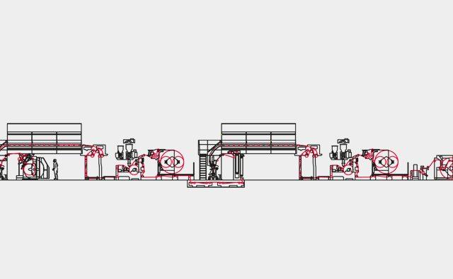 Enduction et contrecollage par extrusion bobst ROTOEXTRUDER 700FTD