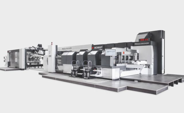 Flexo & pliage collage bobst FFG 8.20 DISCOVERY