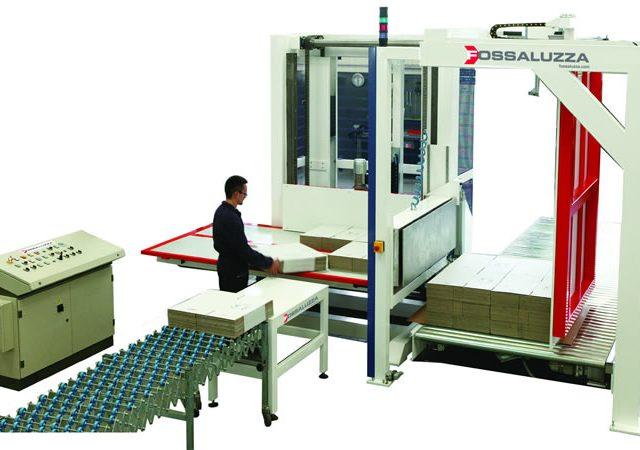 Palettiseur semi-automatique hors sol SAP-F