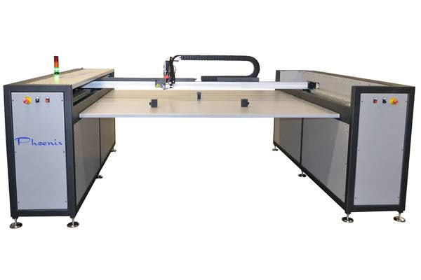 Robot d'encollage 1300 x 1800 à 2000 x 3000 mm